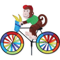 Gold Crest Distributing Premier Designs PD26709 Monkey Bicycle Spinner