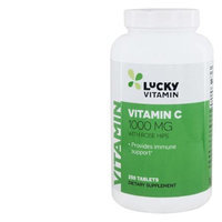 LuckyVitamin - Vitamin C With Rose Hips 1000 mg. - 250 Tablets