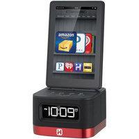iHome Space Saver Alarm Clock w/Kindle Fire Dock