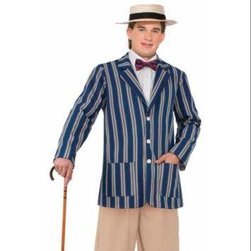 Forum Novelties Roaring 20's Mens Boater Adult Costume Jacket
