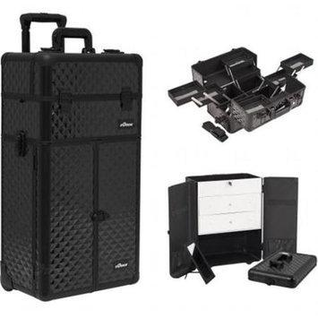 Sunrise Books Sunrise Outdoor Travel Black Diamond Trolley Makeup Case - I3666