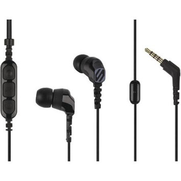 Scosche HP255MD Noise-Isolating Earbuds with Tapline Remote and Microphone