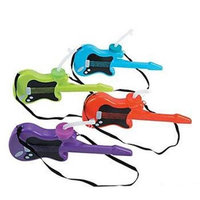 Fun Express 13648900 Plastic Guitar Molded Cups with Lids and Straws