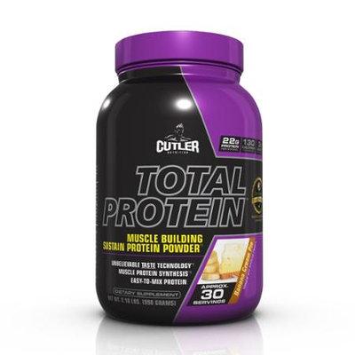 Cutler Nutrition Total Protein Powder, Banana Cream Pie, 2.3 Pound