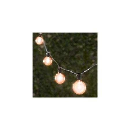 String Light Company Outdoor Party String Lights Clear