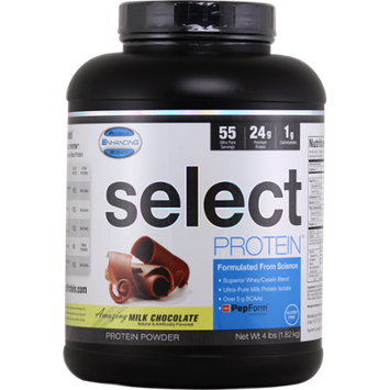 Physique Enhancing Science Select Protein 55 Chocolate Supplement, 4 Pound