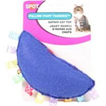 Spot Pillow Puff Tabbie Catnip Cat Toy