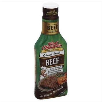 Tony Chachere's Tony Chacheres 12 oz. Creole Style Beef 30 Minute Marinade Case Of 6