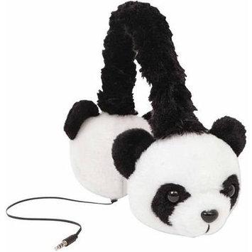 Retrak - Animalz Panda Over-the-ear Headphones - Black/white