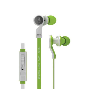 MEElectronics EDM Universe D1P In-Ear Headphones with Inline Microphone (GREEN)