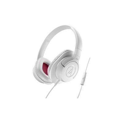 Audio-Technica ATH-AX1iS SonicFuel Over-Ear Headphones (White)