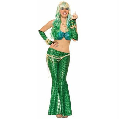 Forum Novelties Mermaid Adult Costume Leggings Green One Size