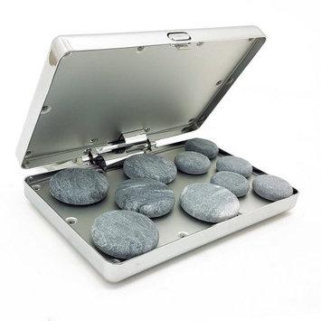 Vandue Royal Massage Chrome Case Hot Stone Heater w/10 Hot Rocks