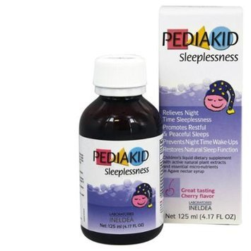 Pediakid - Sleeplessness Cherry Flavor - 125 ml.