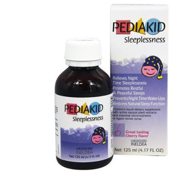 Pediakid - Sleeplessness Cherry Flavor - 125 ml.