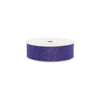American Crafts ACGT96072 Glitter Paper Tape 3 YardsSpoolPlum .875 in.