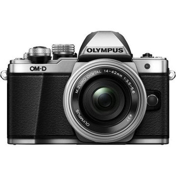 Olympus OM-D E-M10 Mark II Camera with 14-42mm Lens, Black
