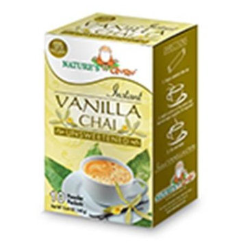 Nature's Guru Natures Guru Vanilla Chai Unsweetened Drink Mix - Pack Of 8