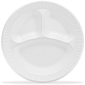 Dart Container Corp Unlaminated Foam Compartment Plates