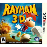 Rayman 3D Nintendo 3DS Game Ubisoft