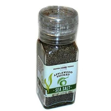Pepper Creek Farms 601F-GR4 Applewood Smoked Salt With Grinder - Pack of 6