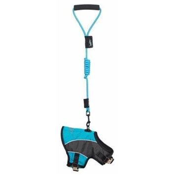 Touchdog Harnesses and Halters Reflective-Max 2-in-1 Premium Performance Adjustable Dog Harness and Leash HA21LBLMD