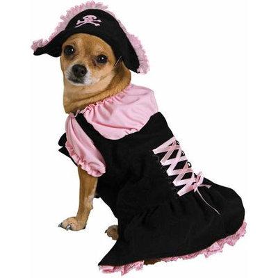 Secret Wishes Pet Costume Pink Pirate Medium Costume