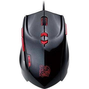 Thermaltake - Theron Plus+ Laser Smart Mouse - Black/red