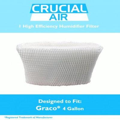 Crucial Vacuum Graco 4 Gallon Humidifier Filter Fits Model 2H02 & TrueAir 05521