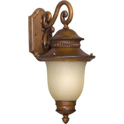 Unbranded 20-in H Rustic Sienna Outdoor Wall Light ENERGY STAR LW170300141