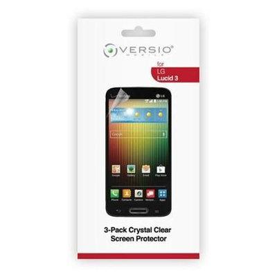 Versio Mobile LG Lucid 3 Screen Protector - 3 Pack