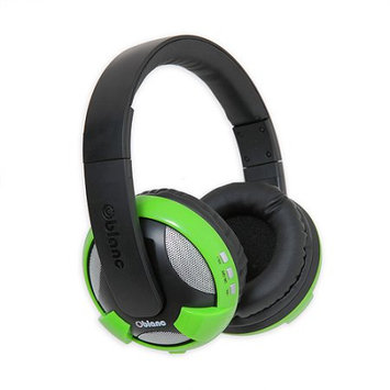 SYBA Multimedia Oblanc U.F.O. Green Bluetooth Headphones