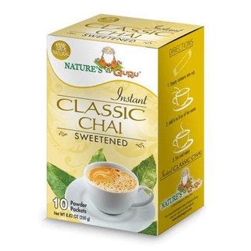 Nature's Guru Natures Guru Classic Chai Sweetened Drink Mix - Pack Of 8