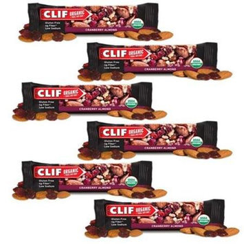 Clif Bar Organic Trail Mix Bars Cranberry Almond