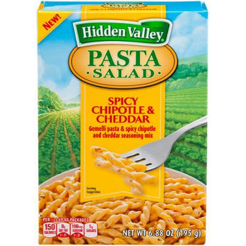 Hidden Valley Pasta Salad, Spicy Chipotle and Cheddar, 6.88 Ounces