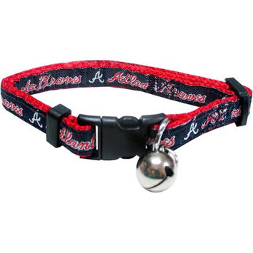 Pets First MLB Atlanta Braves Cat Collar