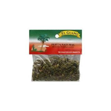 El Guapo Natural Pumpkin Seeds 2-Ounce (Pack of 12)