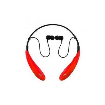 IQ Sound - Bluetooth Wireless Headphones and Mic - Red