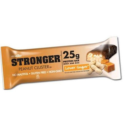 NuGo Nutrition - Stronger Protein Bar Peanut Cluster - 2.82 oz.