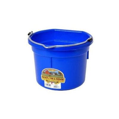 Miller Flatback Plastic Bucket Blue 8 Quart - P8FBBLUEA