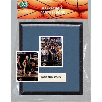 Candicollectables Candlcollectables 67LBLAKERS NBA LA Lakers Party Favor With 6 x 7 Mat and Frame