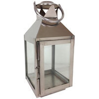 St. Croix Trading Company 13-inch Tall Aluminum Candle Lantern