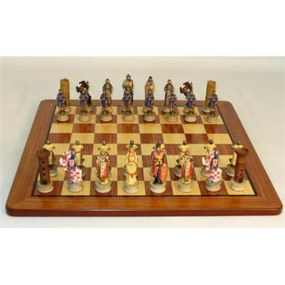 Royal Chess Richard the Lionheart Padauk Brd Set (R70611-PM)