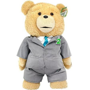Commonwealth Ted 2 Ted in Suit 24-Inch R-Rated Talking Plush Teddy Bear