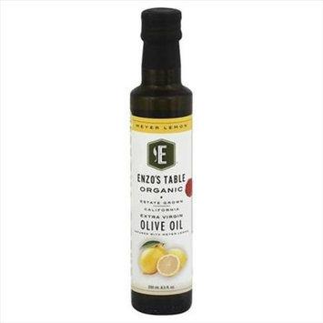 Enzo Olive Oil Co 250 ml. Organic Meyer Lemon Extra Virgin Olive Oil - Case Of 6