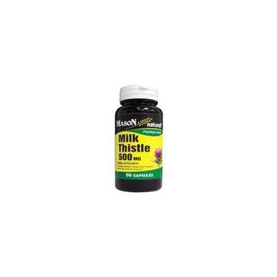 Mason Natural, Milk Thistle 500 mg, 60 Capsules