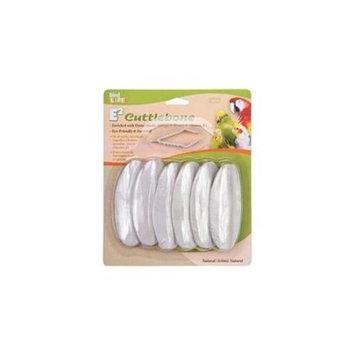 Penn Plax PP08029 Cuttlebone Natural 6 Pack