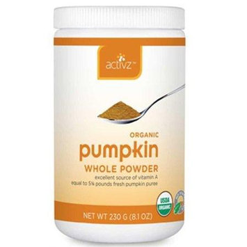 Activz - Organic Pumpkin Whole Powder - 8.1 oz.