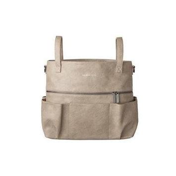The Honest Co. Honest Carryall Satchel Diaper Bag in Elephant Grey