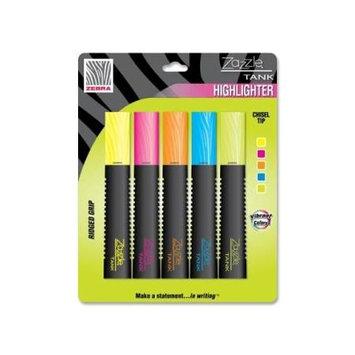 Zebra Pen Corporation ZEB70105 - Zebra Pen Zazzle Tank Highlighter